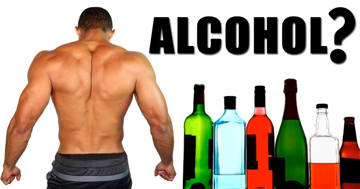 alcohol vs gym